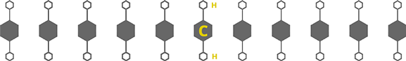 Non Cross-Linked PE Molecule